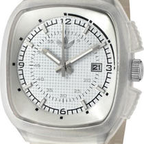 Adidas ADH2115 Toronto White Grid Textured Dial Transparent Polyurethane Watch Photo